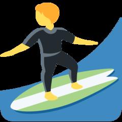 Surfer twitter emoji