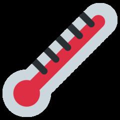 Thermometer twitter emoji