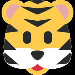 Tiger Face twitter emoji