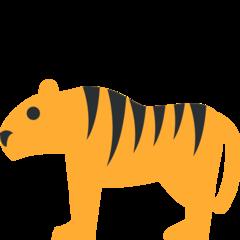 Tiger twitter emoji