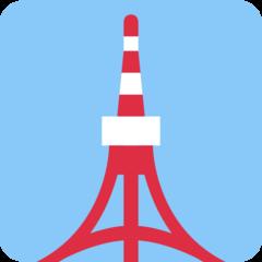 Tokyo Tower twitter emoji