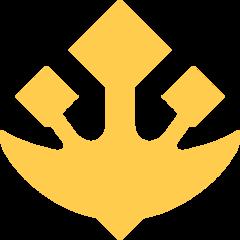 Trident Emblem twitter emoji