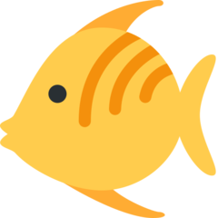 Tropical Fish twitter emoji