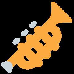 Trumpet twitter emoji