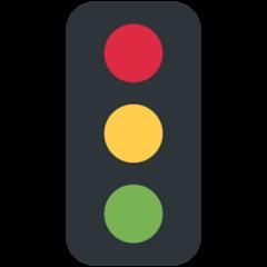 Vertical Traffic Light twitter emoji