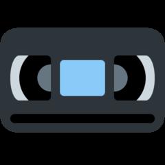 Videocassette twitter emoji