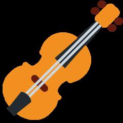 Violin twitter emoji
