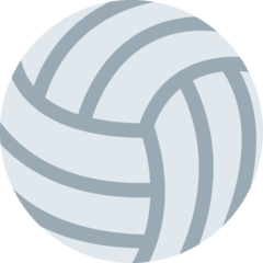 Volleyball twitter emoji