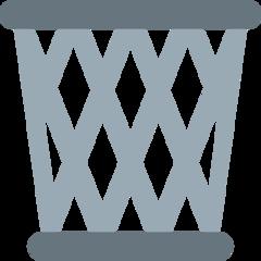 Wastebasket twitter emoji