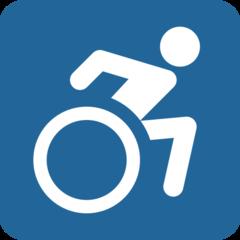 Wheelchair Symbol twitter emoji