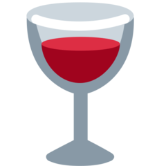 Wine Glass twitter emoji