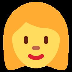 Woman twitter emoji