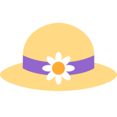 Womans Hat twitter emoji