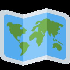 World Map twitter emoji