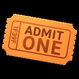 Admission Tickets whatsapp emoji