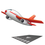 Airplane Departure whatsapp emoji