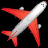 Airplane whatsapp emoji