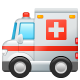 Ambulance whatsapp emoji