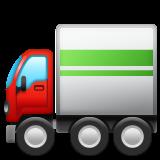 Articulated Lorry whatsapp emoji