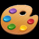 Artist Palette whatsapp emoji
