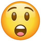 Astonished Face whatsapp emoji