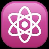 Atom Symbol whatsapp emoji