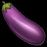 Aubergine whatsapp emoji