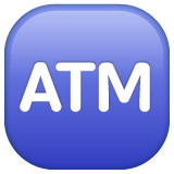 Automated Teller Machine whatsapp emoji