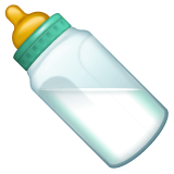 Baby Bottle whatsapp emoji