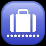 Baggage Claim whatsapp emoji