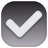 Ballot Box With Check whatsapp emoji