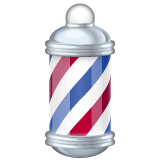 Barber Pole whatsapp emoji