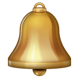 Bell whatsapp emoji