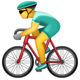 Bicyclist whatsapp emoji