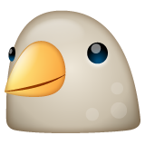 Bird whatsapp emoji