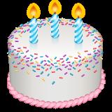 Birthday Cake whatsapp emoji