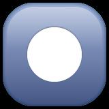 Black Circle For Record whatsapp emoji