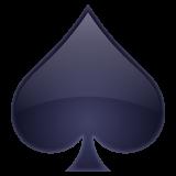 Black Spade Suit whatsapp emoji