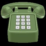 Black Telephone whatsapp emoji
