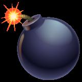 Bomb whatsapp emoji
