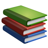 Books whatsapp emoji