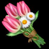 Bouquet whatsapp emoji