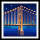 Bridge At Night whatsapp emoji