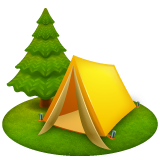Camping whatsapp emoji
