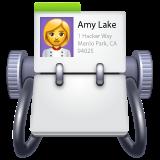 Card Index whatsapp emoji