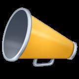 Cheering Megaphone whatsapp emoji