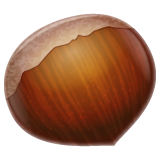 Chestnut whatsapp emoji