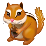 Chipmunk whatsapp emoji