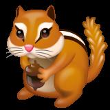 Chipmunk whatsapp emoji