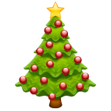 Christmas Tree whatsapp emoji